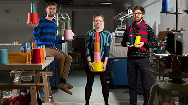 Unmade is a new startup in London that has customized knitting and makes them as per the customer preferences.
