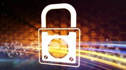 Padlock as a symbol of information safety