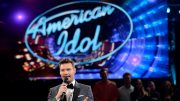 "HOLLYWOOD, CALIFORNIA - APRIL 07:  Host Ryan Seacrest speaks in the audience during FOX's ""American Idol"" Finale For The Farewell Season at Dolby Theatre on April 7, 2016 in Hollywood, California. at Dolby Theatre on April 7, 2016 in Hollywood, California.  (Photo by Kevork Djansezian/Getty Images) FOX's ""American Idol"" Finale For The Farewell Season - Show 2016 Getty Images    621588839 90072801 Getty Images North America Stringer"
